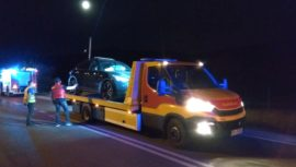 Groźna kolizja 3 aut w czańcu